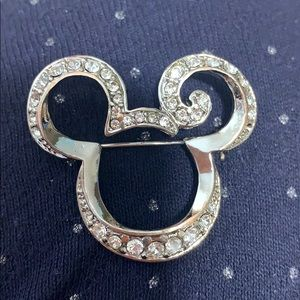 Disney Mickey Mouse brooch/pin costume jewelry.